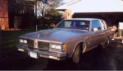 My 1984 Olds Delta 88 Royale Brougham Coupe